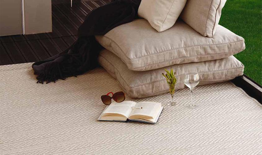 tappeto esterno bianco