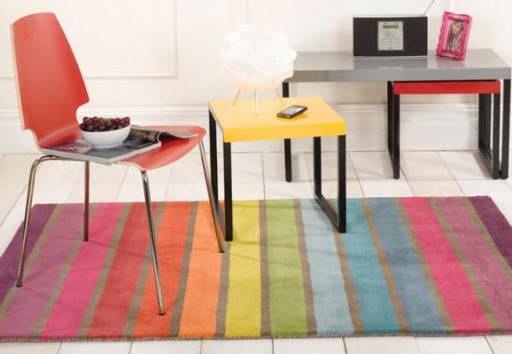 tappeto colorato
