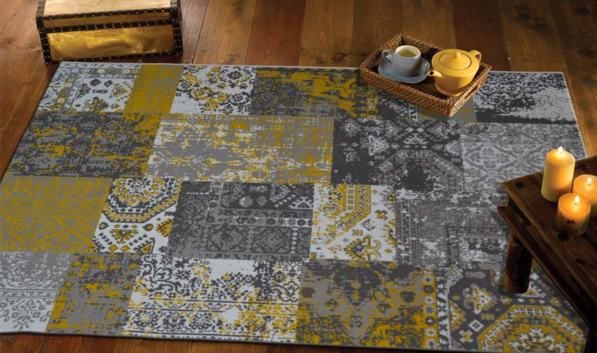 Tappeti vintage patchwork classico