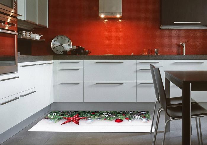 Stuoia Natale per la cucina