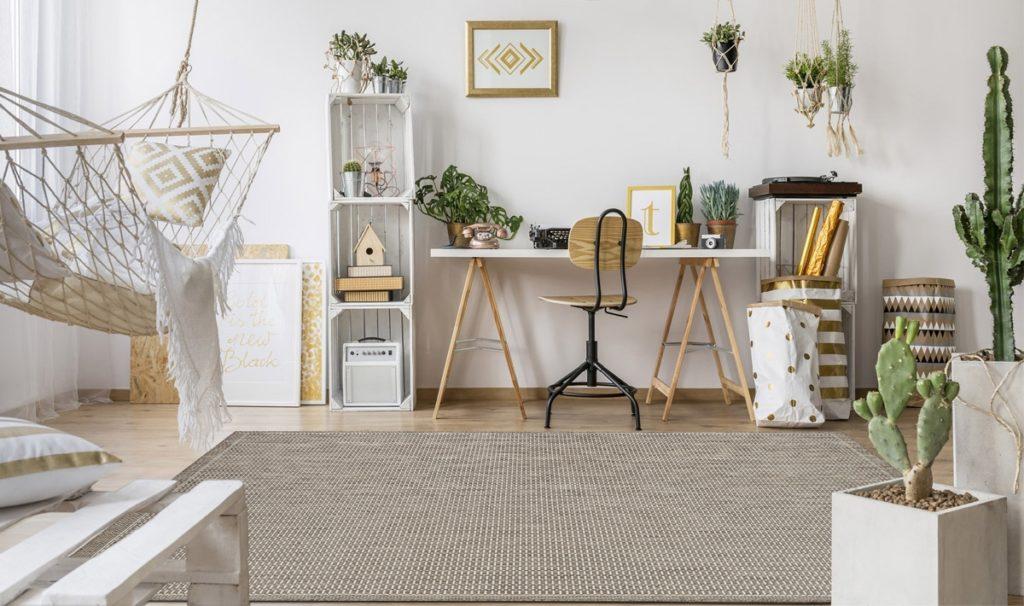 tappeti per ufficio a casa