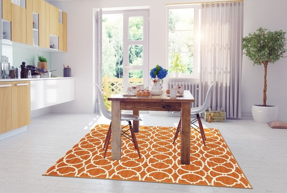 tappeto sala da pranzo e cucina